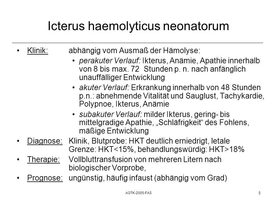 Icterus haemolyticus neonatorum