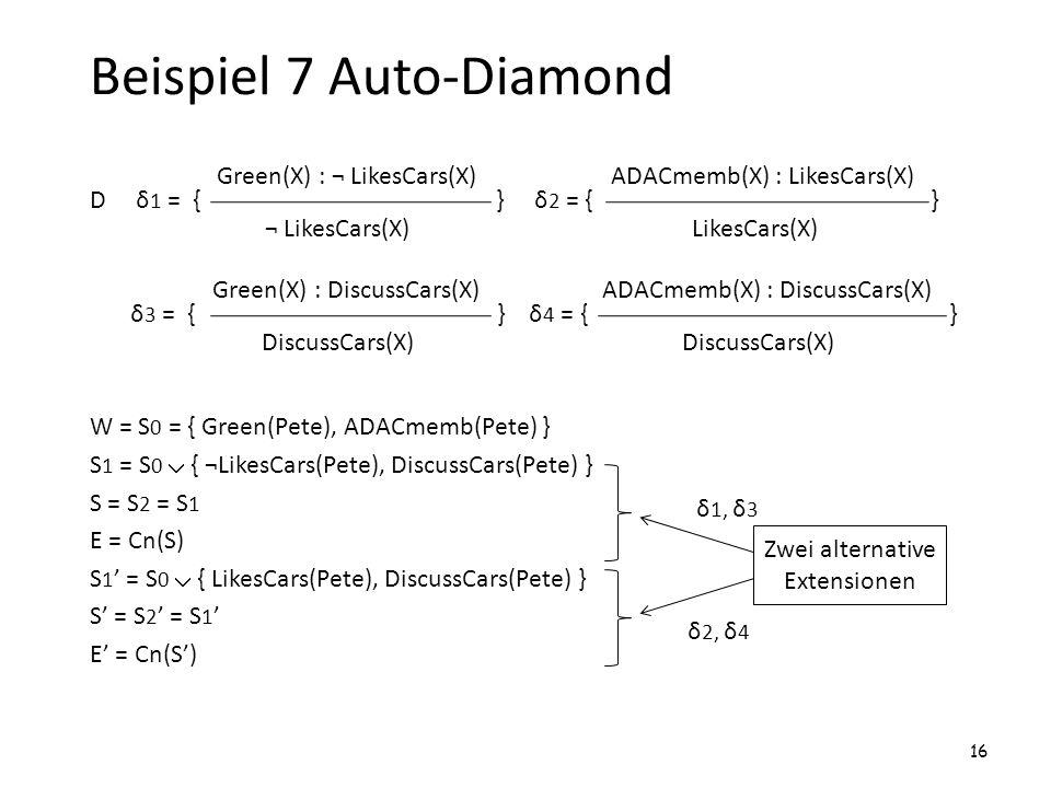 Beispiel 7 Auto-Diamond