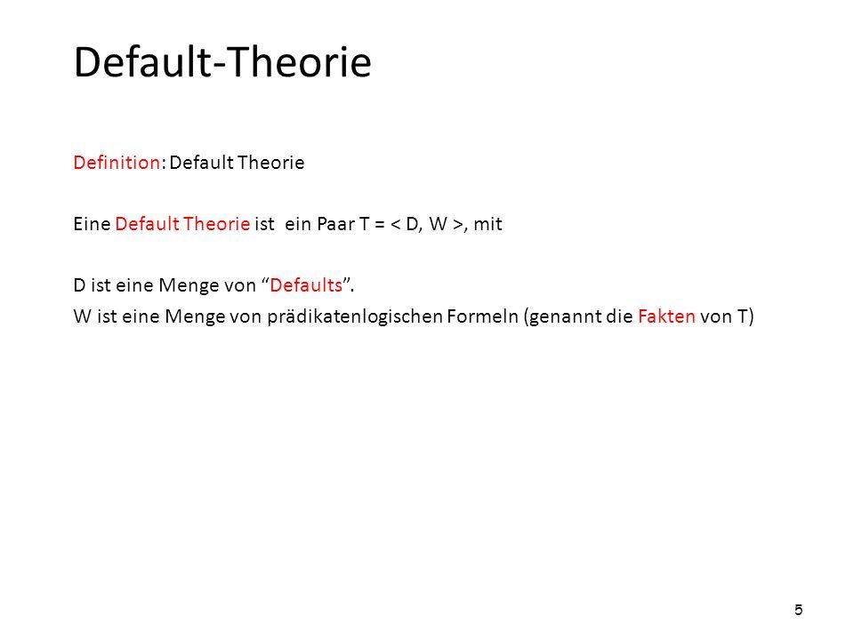 Default-Theorie