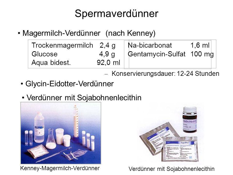 Spermaverdünner Magermilch-Verdünner (nach Kenney)