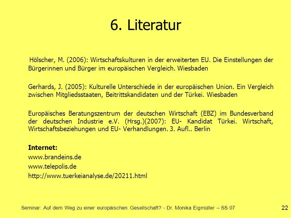 6. Literatur