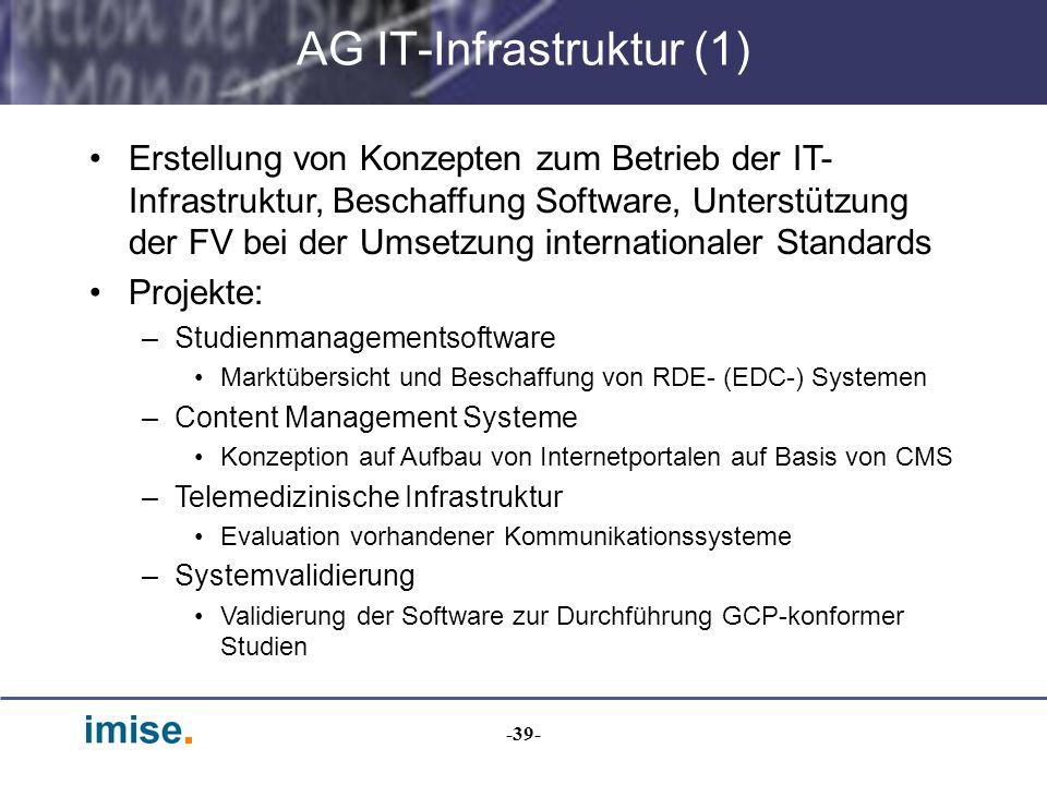AG IT-Infrastruktur (1)