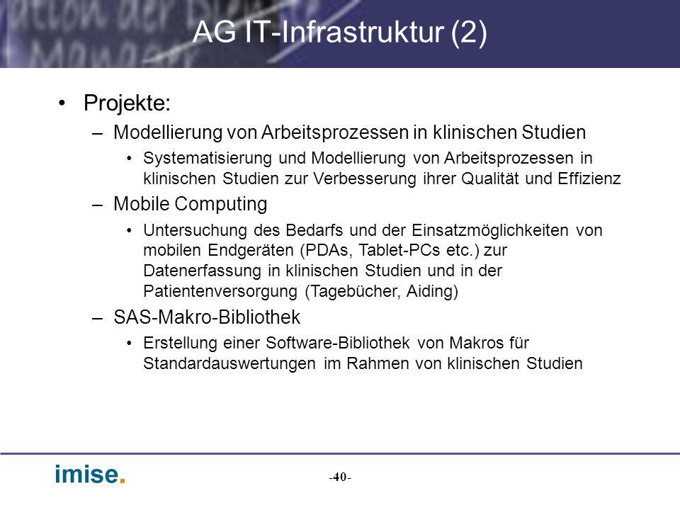 AG IT-Infrastruktur (2)