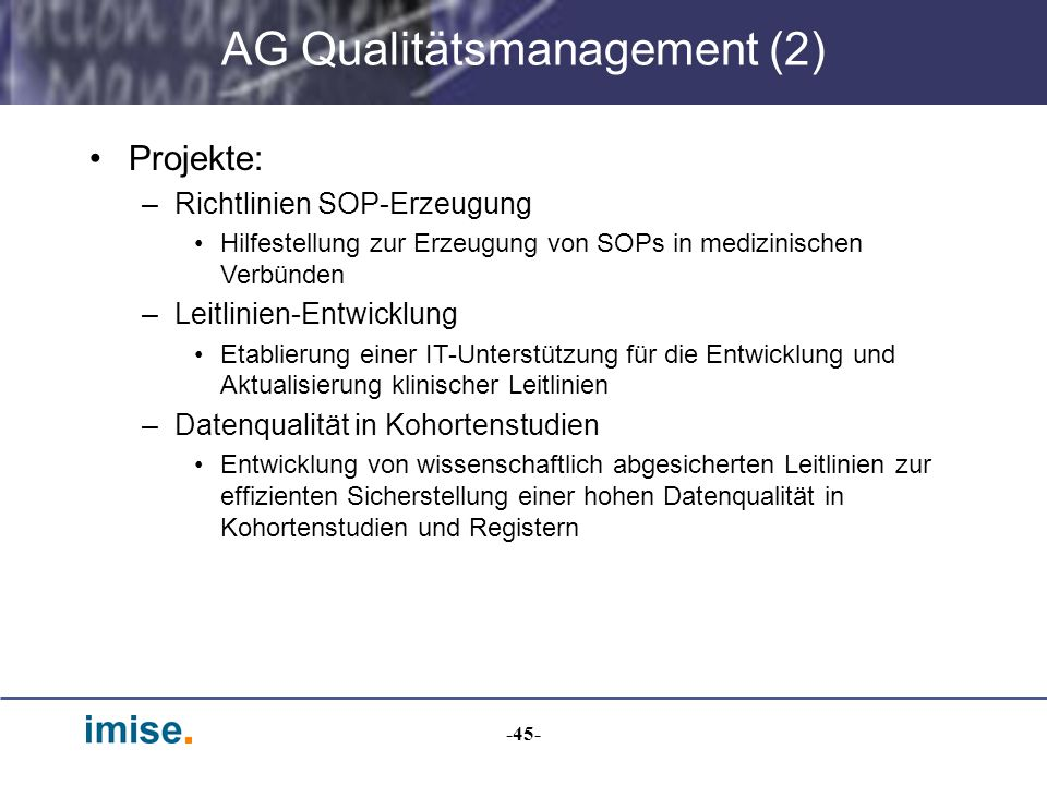 AG Qualitätsmanagement (2)