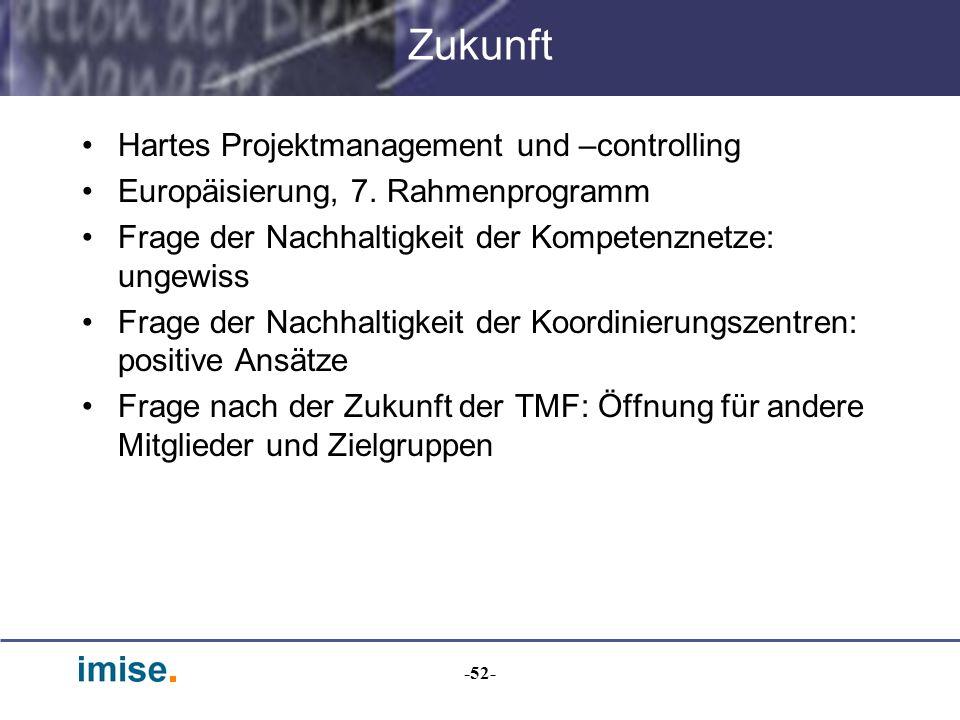 Zukunft Hartes Projektmanagement und –controlling