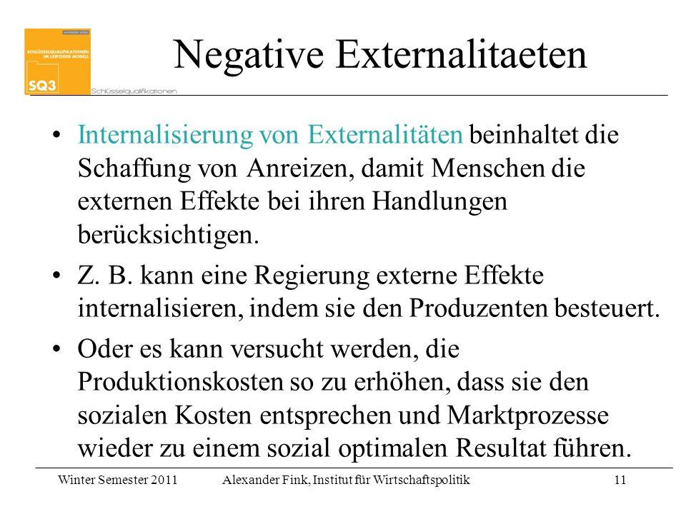 Negative Externalitaeten
