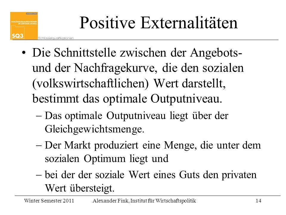 Positive Externalitäten