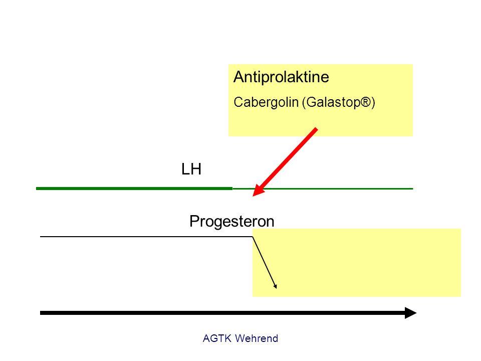 Antiprolaktine Prolaktin LH Progesteron Cabergolin (Galastop®)
