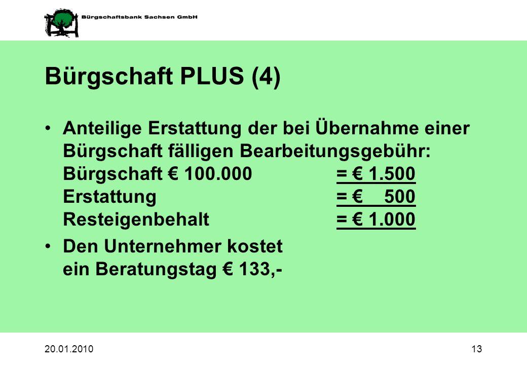 Bürgschaft PLUS (4)