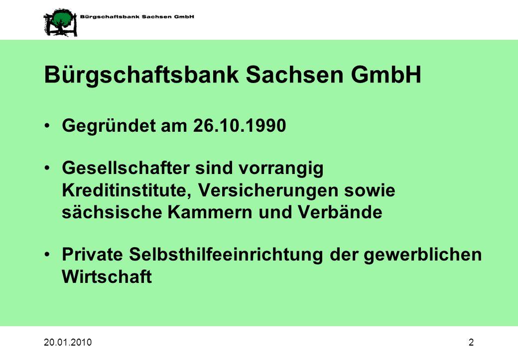 Bürgschaftsbank Sachsen GmbH
