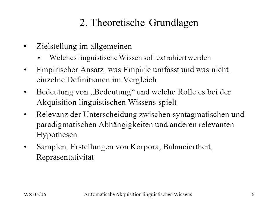 2. Theoretische Grundlagen