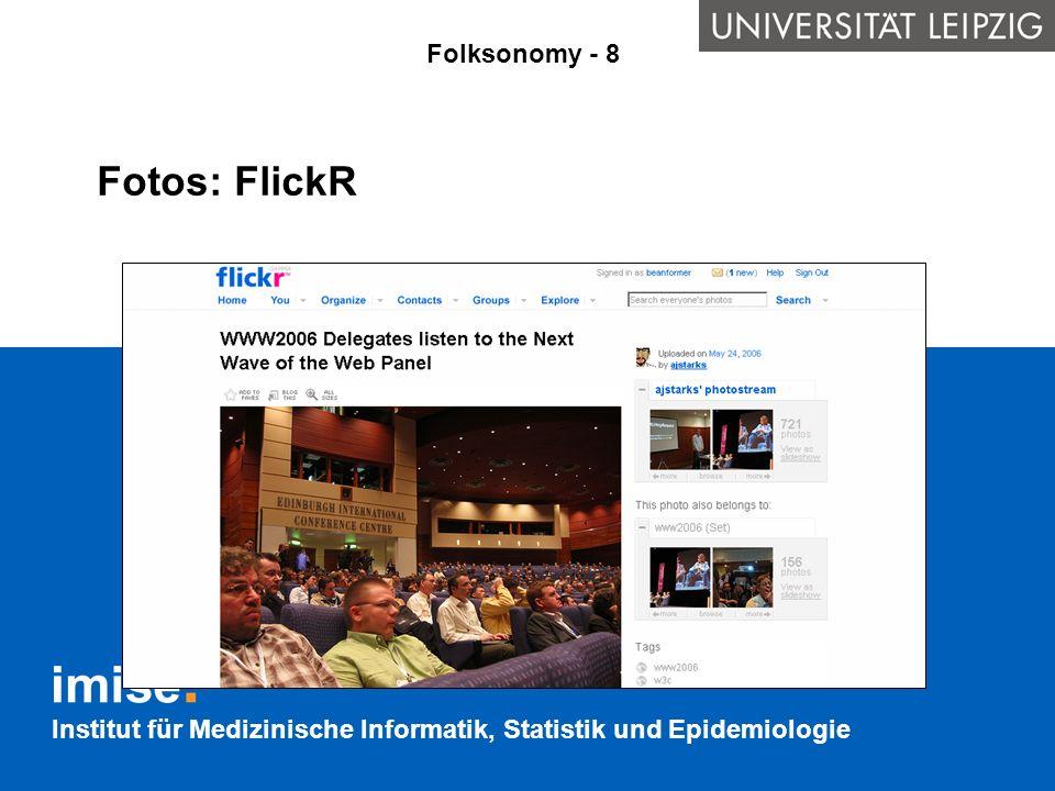 Fotos: FlickR Folksonomy - 8