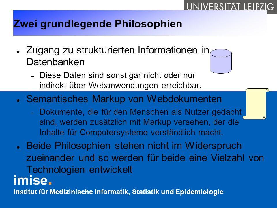 Zwei grundlegende Philosophien