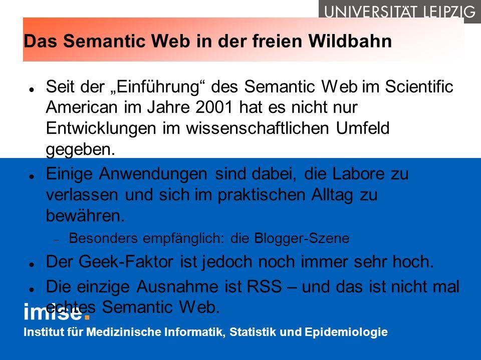 Das Semantic Web in der freien Wildbahn