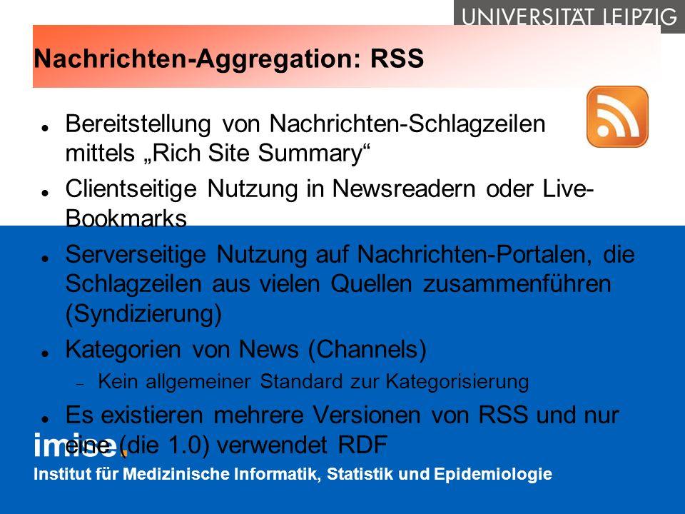 Nachrichten-Aggregation: RSS