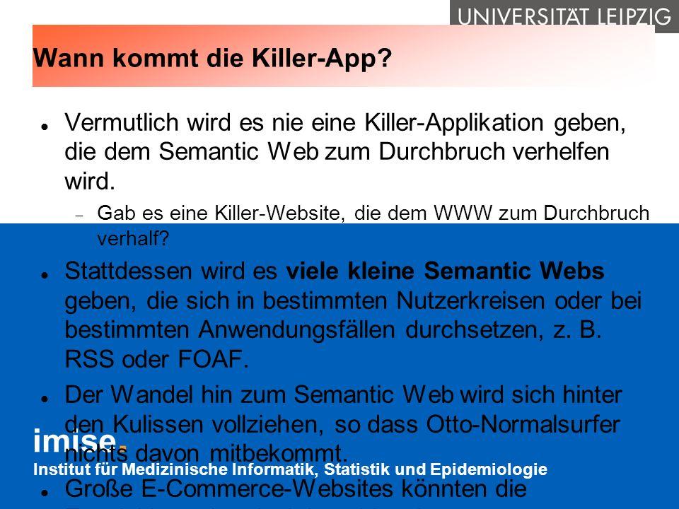 Wann kommt die Killer-App