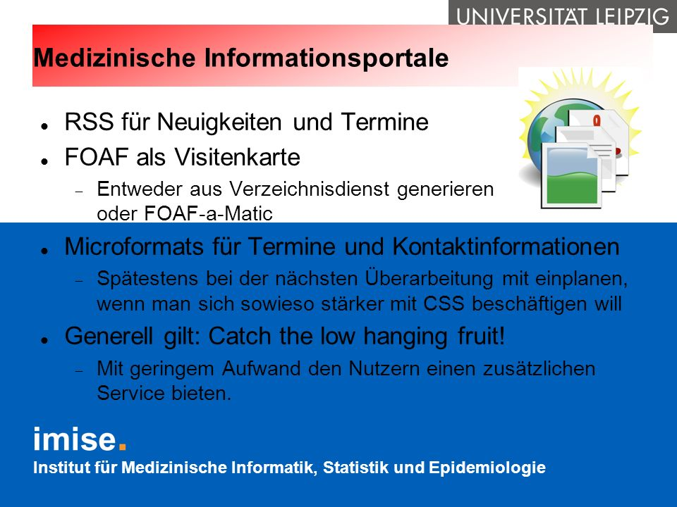 Medizinische Informationsportale