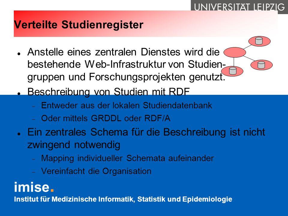 Verteilte Studienregister