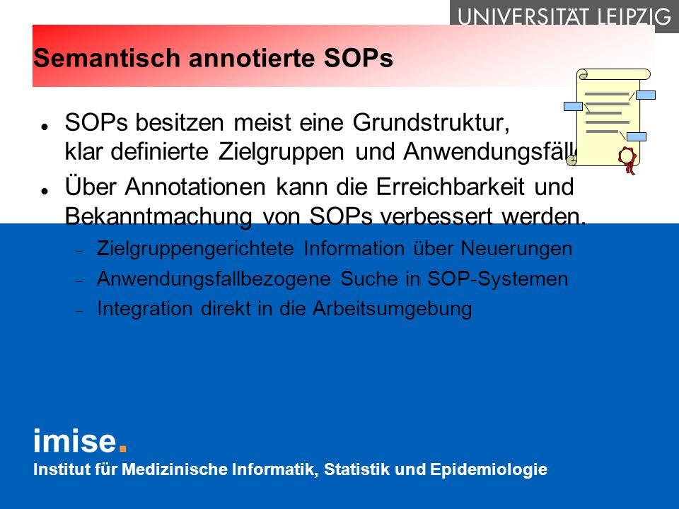 Semantisch annotierte SOPs