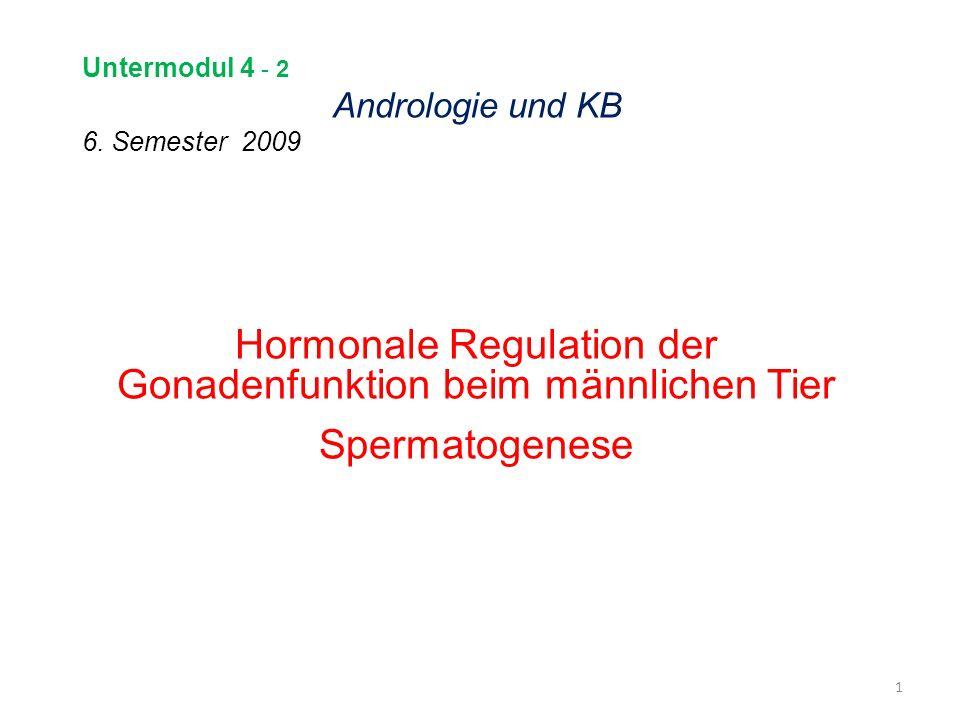 Untermodul 4 - 2 Andrologie und KB 6. Semester 2009