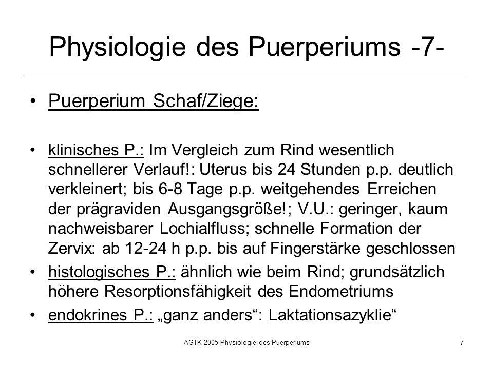 Physiologie des Puerperiums -7-