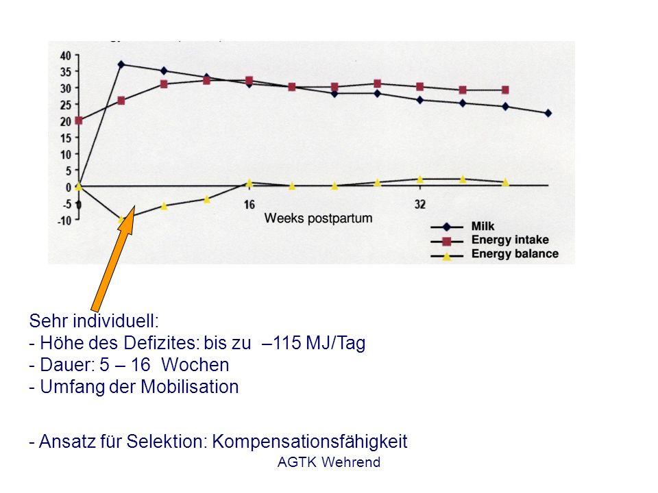 - Ansatz für Selektion: Kompensationsfähigkeit