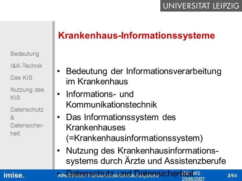 Krankenhaus-Informationssysteme