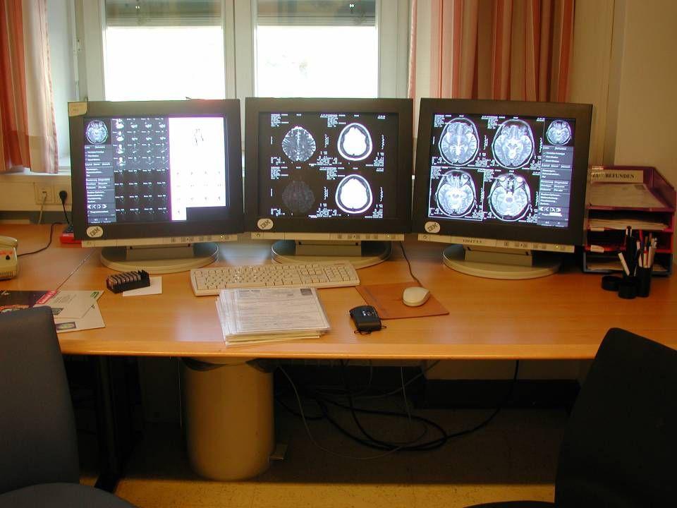 in der diagnostischen Radiologie