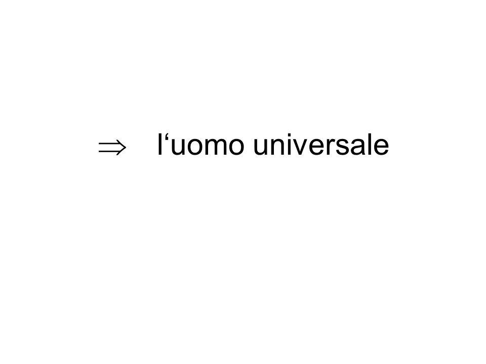 l'uomo universale