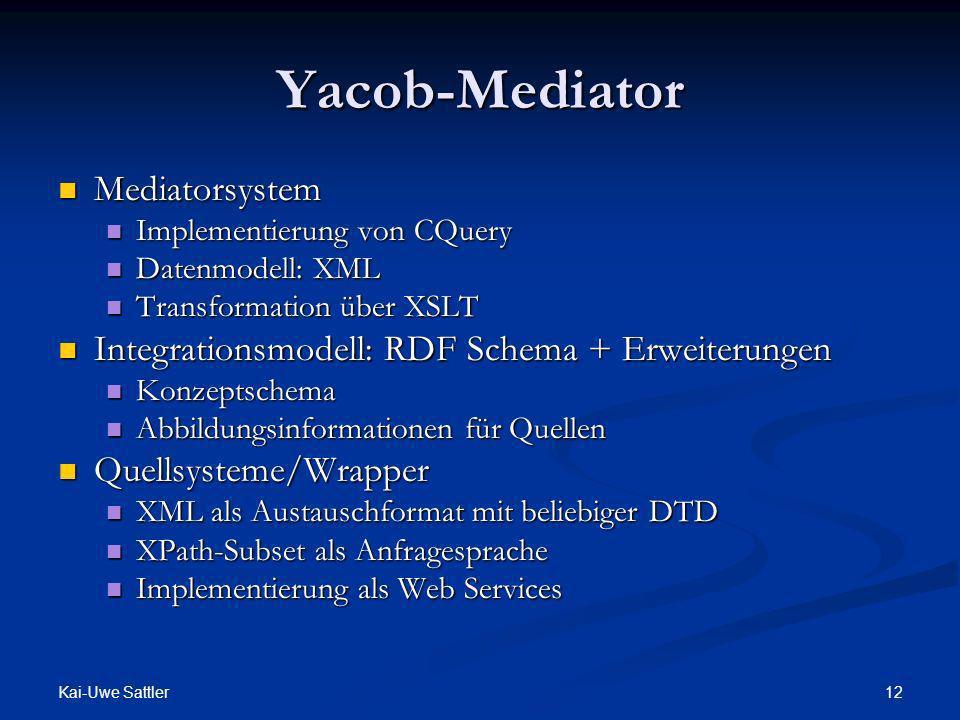 Yacob-Mediator Mediatorsystem
