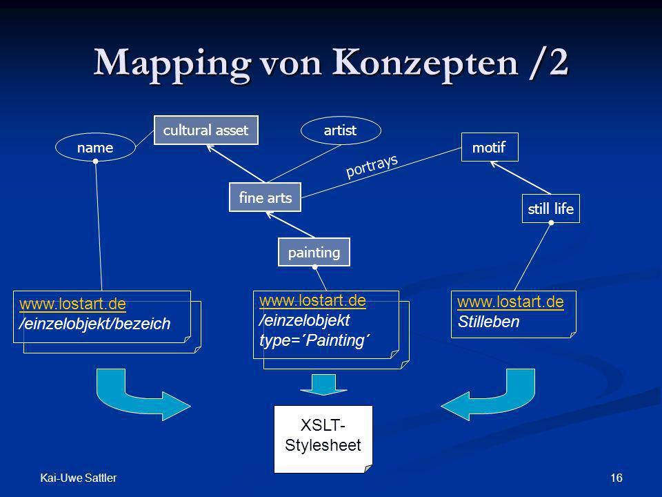 Mapping von Konzepten /2