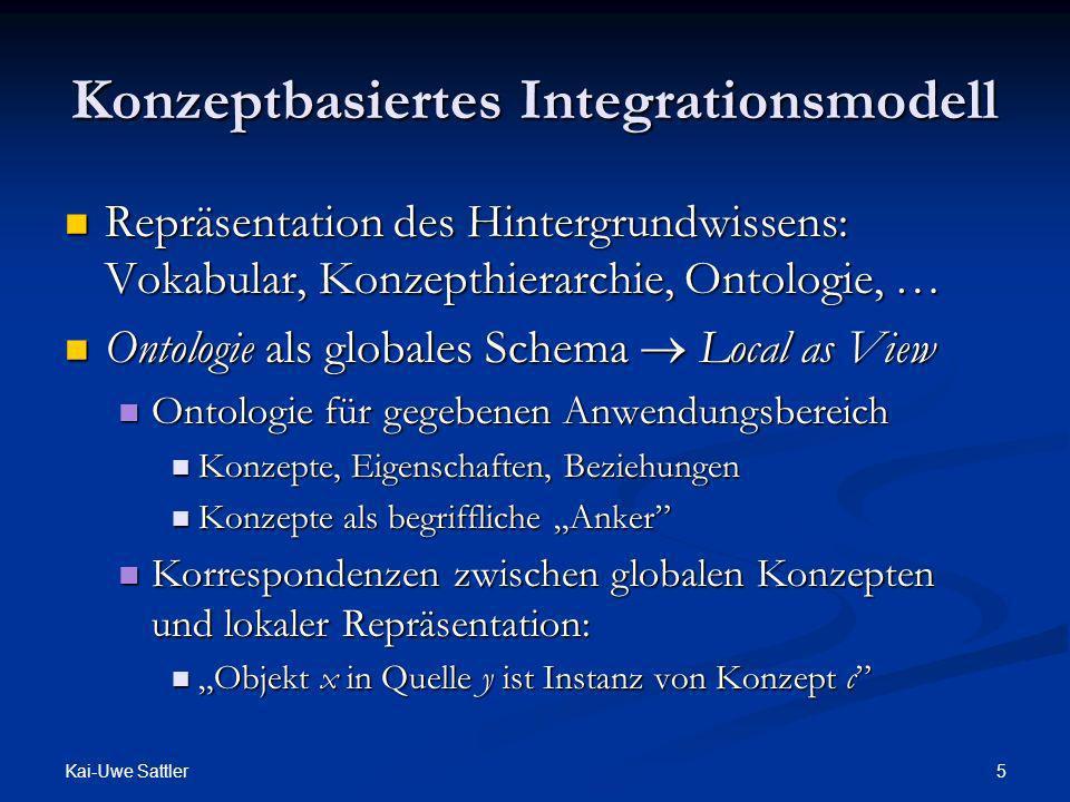 Konzeptbasiertes Integrationsmodell