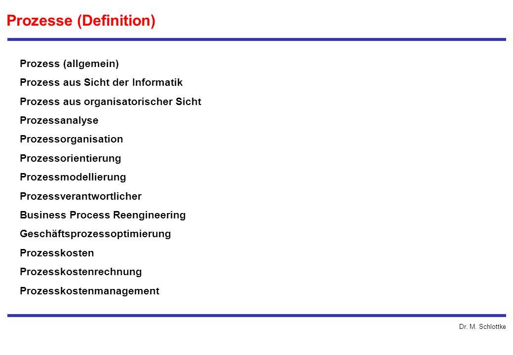 Prozesse (Definition)