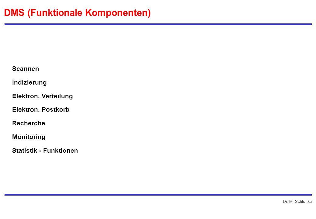 DMS (Funktionale Komponenten)