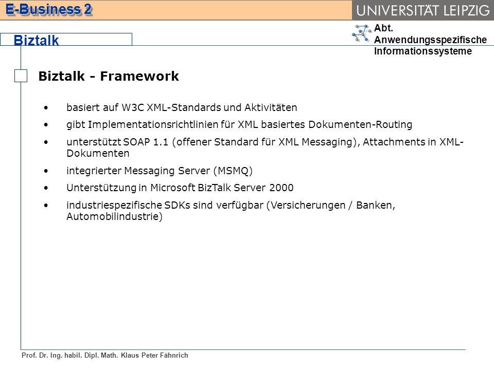 Biztalk Biztalk - Framework
