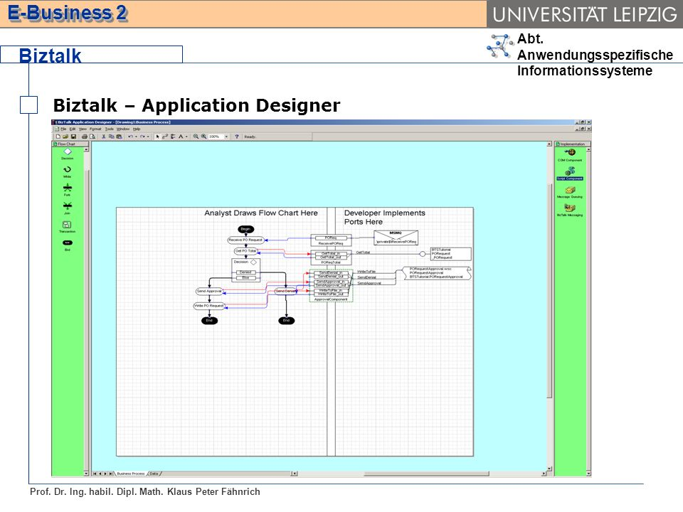 Biztalk Biztalk – Application Designer