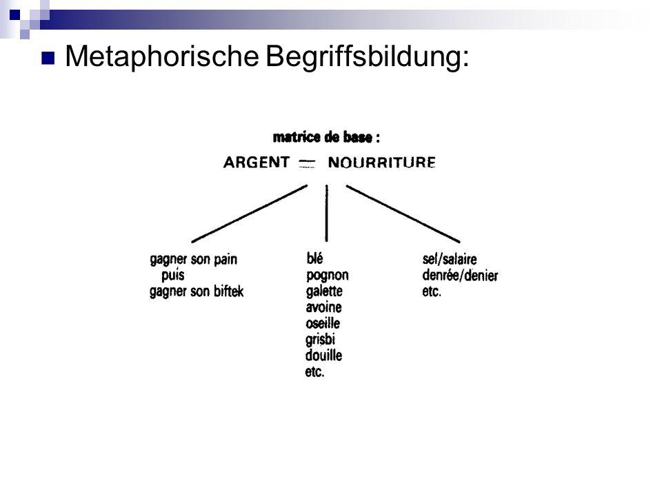 Metaphorische Begriffsbildung:
