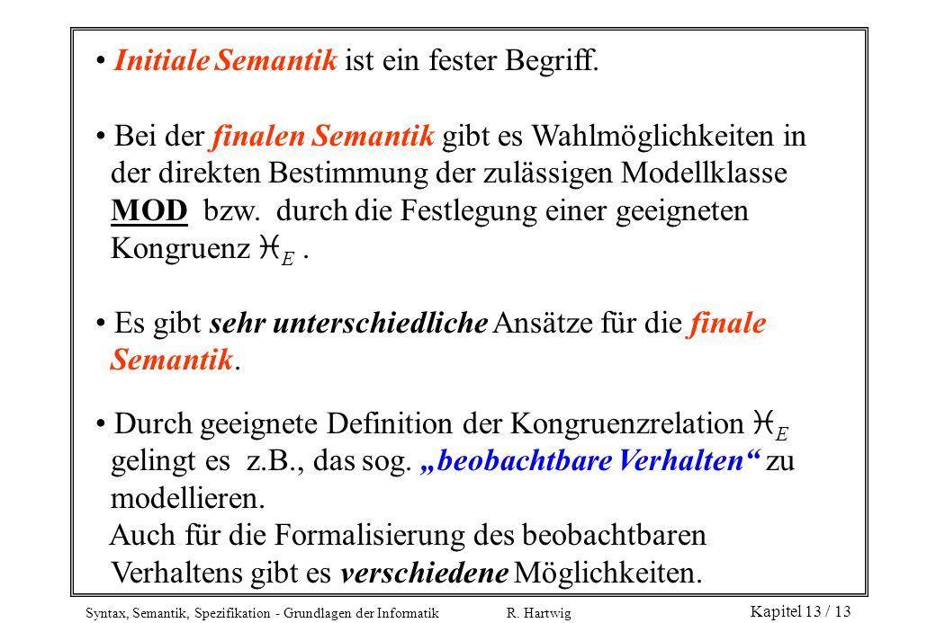 Initiale Semantik ist ein fester Begriff.