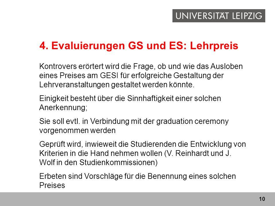 4. Evaluierungen GS und ES: Lehrpreis