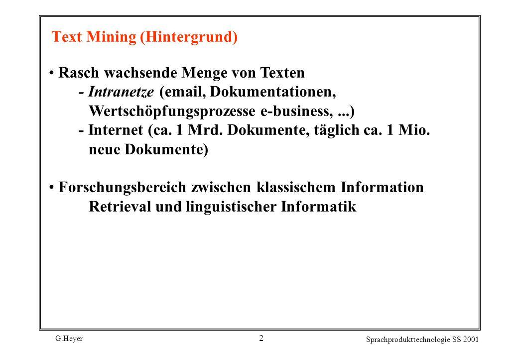 Text Mining (Hintergrund)