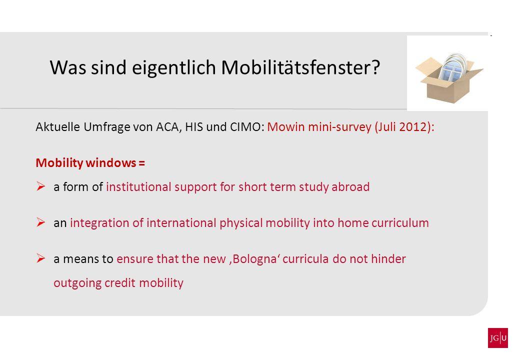 Was sind eigentlich Mobilitätsfenster
