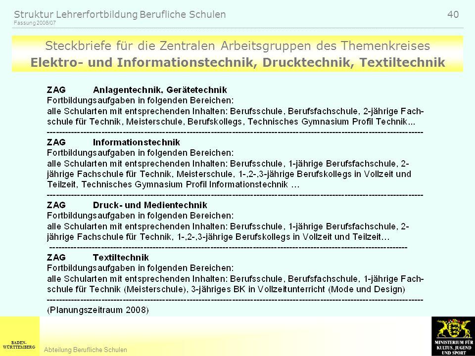 Elektro- und Informationstechnik, Drucktechnik, Textiltechnik