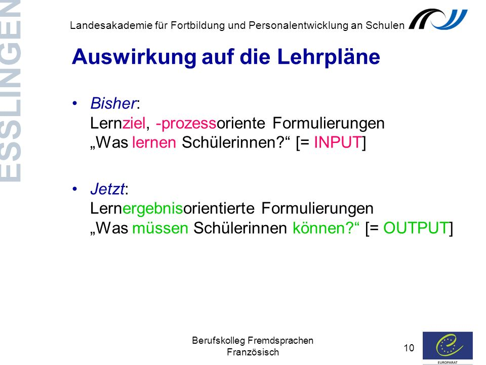Berufskolleg Fremdsprachen