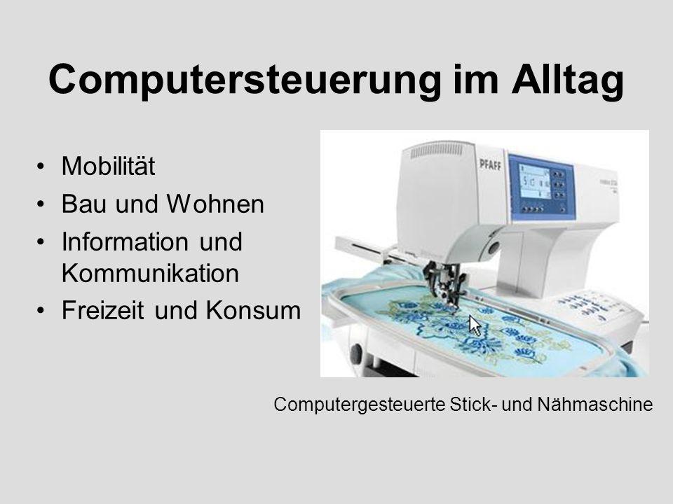 Computersteuerung im Alltag