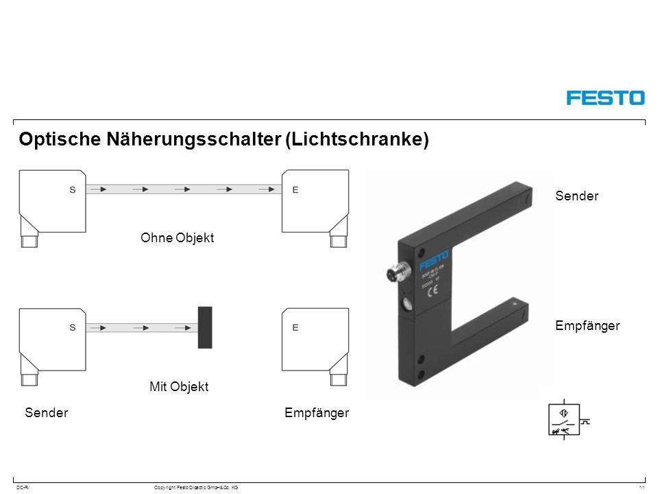 Optische Näherungsschalter (Lichtschranke)