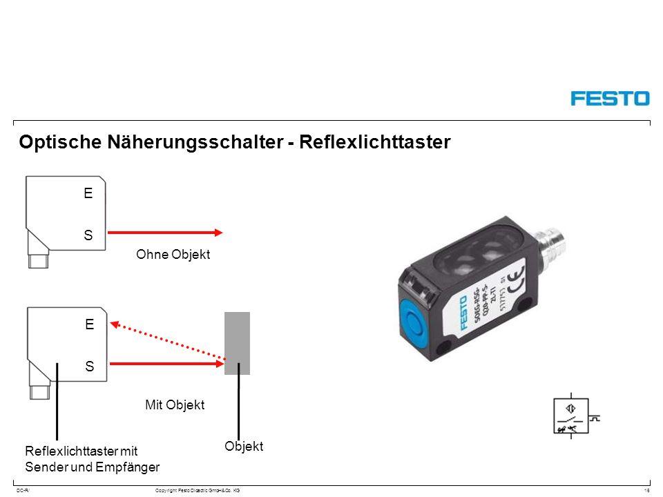Optische Näherungsschalter - Reflexlichttaster