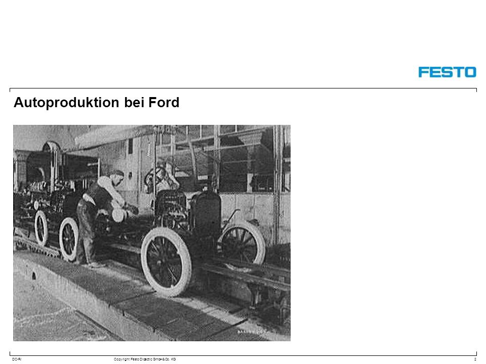 Autoproduktion bei Ford