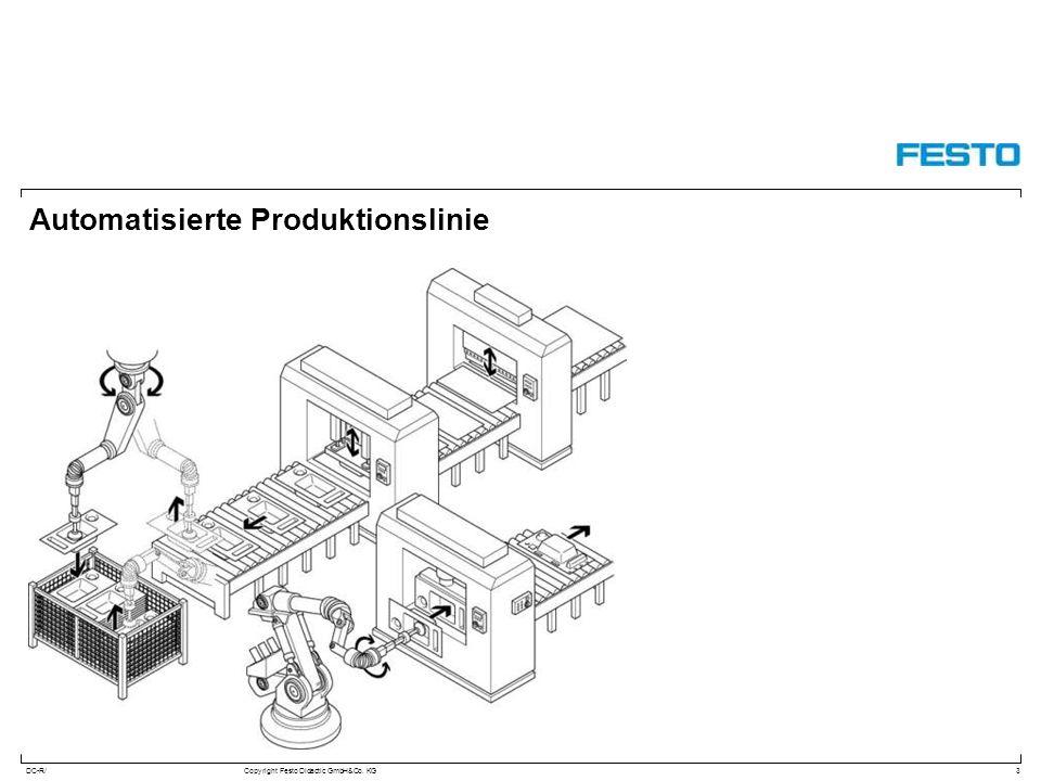 Automatisierte Produktionslinie