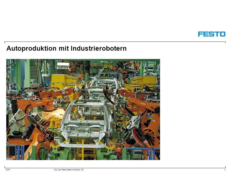 Autoproduktion mit Industrierobotern
