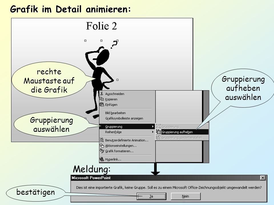 Grafik im Detail animieren: